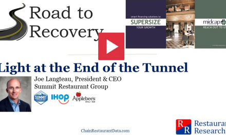 Road to Recovery – Including Interview with Summit Restaurant Group
